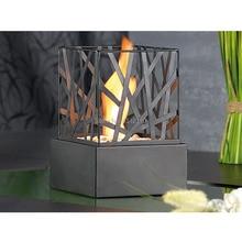 Metal Crafts Bio- Ethanol Table Top Fireplace Home Decoration Fences Design KW2306