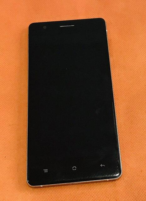 Pantalla LCD Original antigua + Cristal de pantalla táctil digitalizador + marco para CUBOT X16 S X16S 5,0 pulgadas MT6735A Quad Core envío gratis