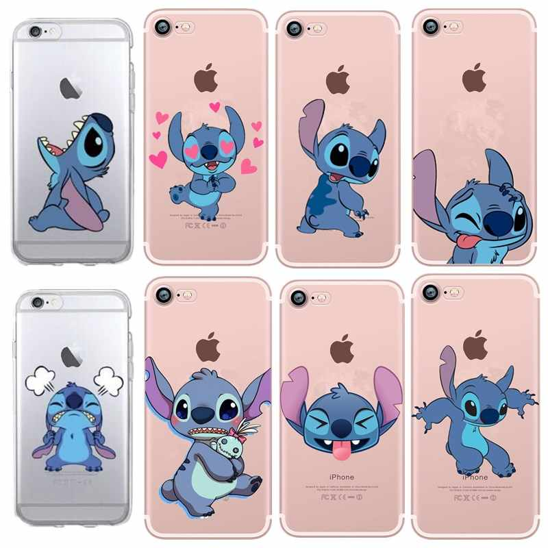 Caso bonito Do Ponto Macio TPU Caso de Telefone para o iphone 7 8 Funda Capa Coque Coque iphone 5 5S SE 6 s 7 8X7 plus 8 mais XS XS MAX XR