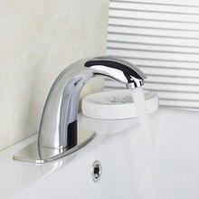 Современная Роскошь Автоматическая Чувство Кран для Кухни ванной бассейна экономии воды, электрический датчик Воды смесителя