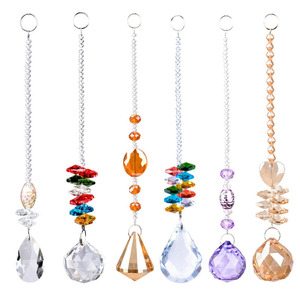1pcs Crystal ball Faceted Pend