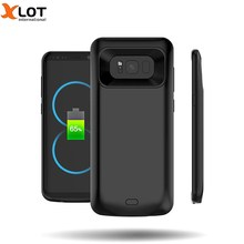 External Battery Charger Case For samsung galaxy s8 s8Plus 5000/5500mAh external Backup Battery charger Case Cover Power Bank