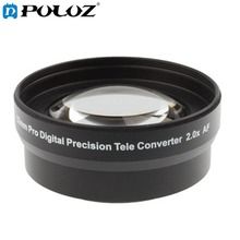 Cheaper 2.0X 52mm Pro Digital Precision Teleconverter Telephoto Tele Lens Tele Converter for Nikon D7100 D5000 D3200 D3100 D3000