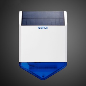 Image 4 - Sistema de Alarma de Casa inalámbrico Android IOS de seguridad APP Control 720P HD IP cámara inalámbrica Solar sirena Alarma cortina PIR Detector