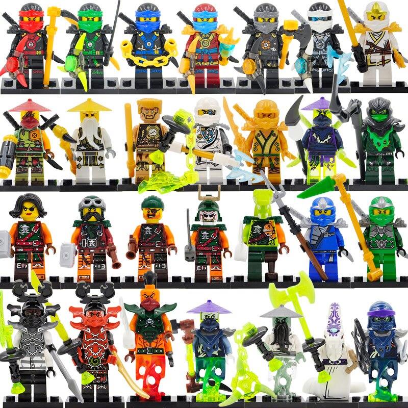 картинки всех человечков из лего ниндзяго