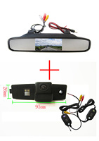 Wireless Color CCD Car Rear View Camera For Toyota Highlander Kluger Lexus RX300 With 4 3