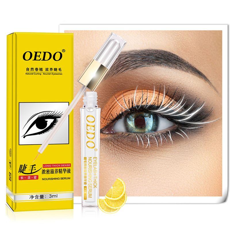 Eyelash Nourishing Growth Serum Liquid Eye Lash Longer Thicker Enhancer Extension Powerful Makeup 3mL