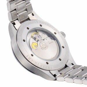 Image 5 - Resif kaplan/RT iş erkekler üst sınıf lüks elbise izle otomatik hareketi erkek 316L katı çelik süper parlak RGA8015