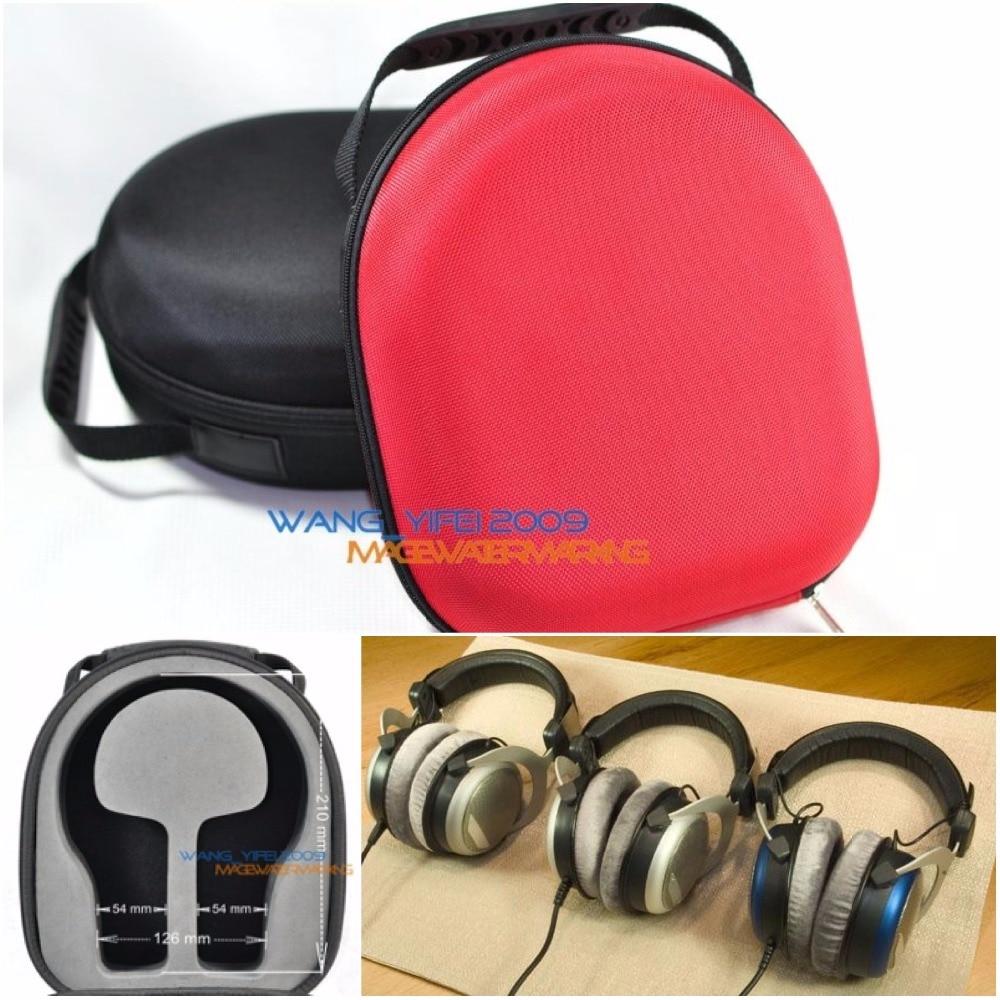 купить Headphone Storage Case For Beyerdynamic DT770 DT880 DT990 DT1990 T1 Custom One Pro Headphone Headset онлайн