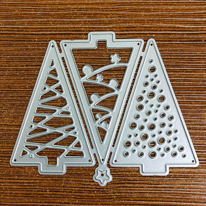 Weihnachten Metall DIY CuttingDie Schablone Scrapbook Album Papier Karte  ^