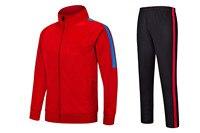 LiDong New Autumn Winter Zipper Jacket Long Sleeve Sport Uniform Outfit Trainning Coat Soccersets Men Adult