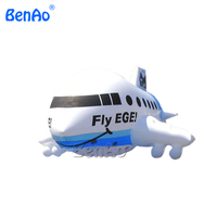 AO071 Free Shipping 8m air advertising large inflatable airplane inflatbale air ship for sale,Advertising Helium Blimps