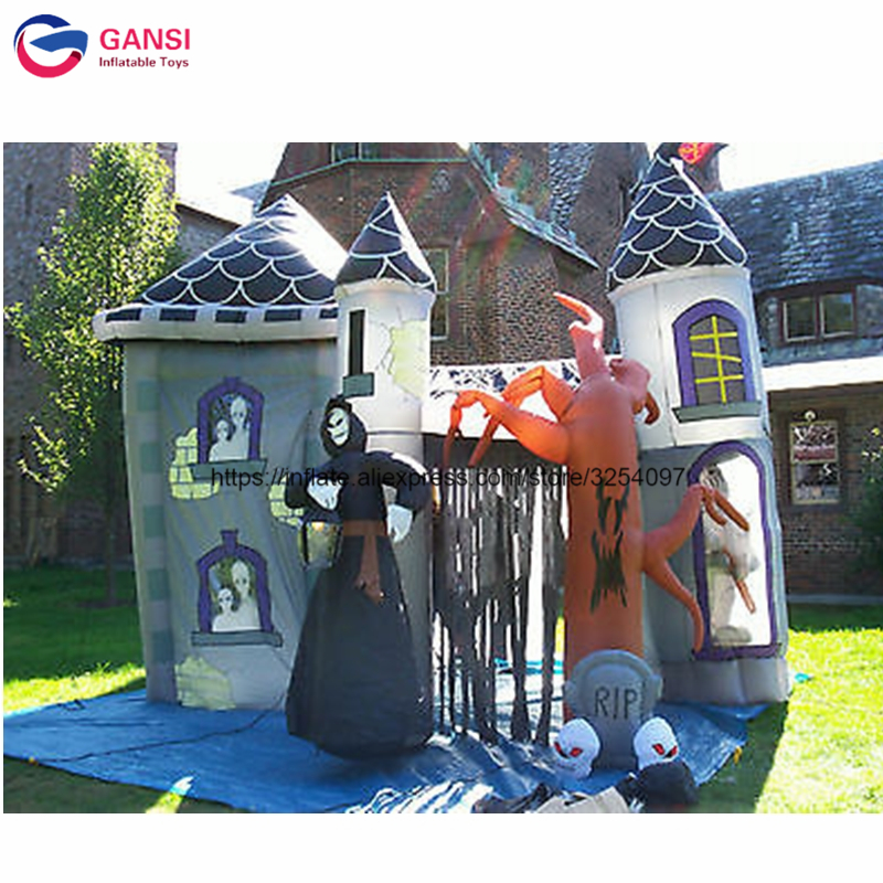 inflatable haunted house17