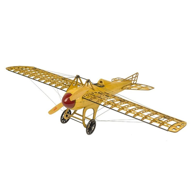 цена Dancing Wings Hobby Deperdussin Monocoque 500mm Balsa Wood 1:13 95% Finished Static Airplane Model