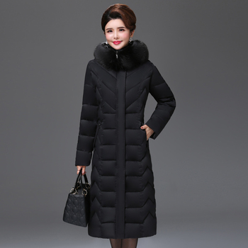 High Hot Sale Time-limited Long Quality Winter Jacket Women Warm Thicken Female Coat Plus Big Size Padded Parka Parkas