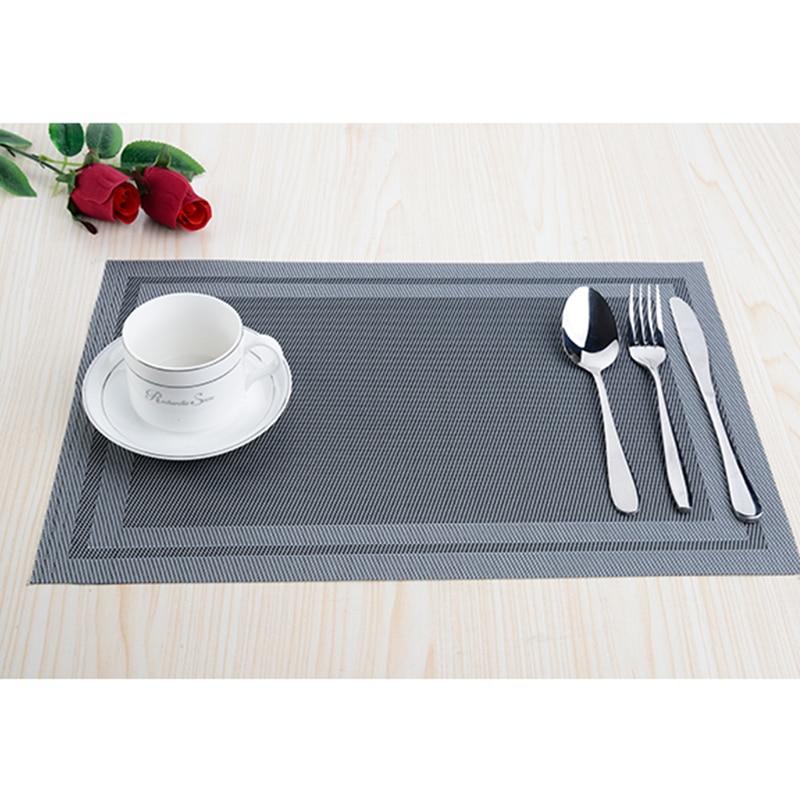 8pcs / lot PVC köksdisplay Placemats för matta manteles - Kök, matsal och bar - Foto 4