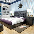 modern design soft bed bedroom furniture bed ,bedside,mattress