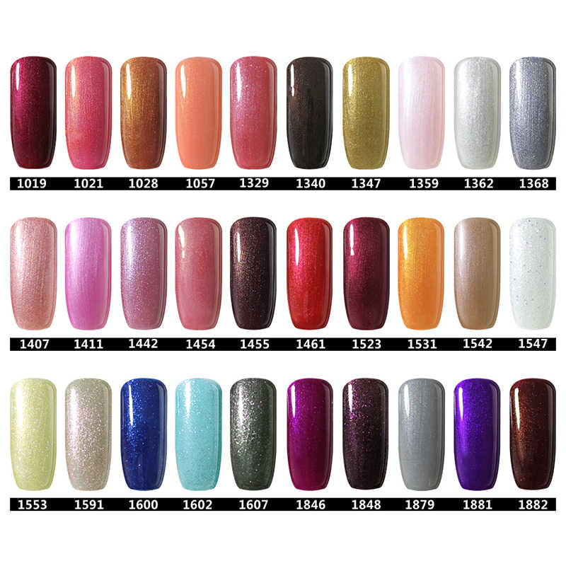 2b0019877a BELLE FILLE Bling UV Gel Polish 10ml Soak Off Gel Nail Polish Gel Varnish  Lacquer Nail Art Vernis Semi Permanent 1461