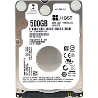 HGST 500GB Internal Hard Drives Travelstar Z5K500 B 2 5 Inch SATA III Hard Disk Drive