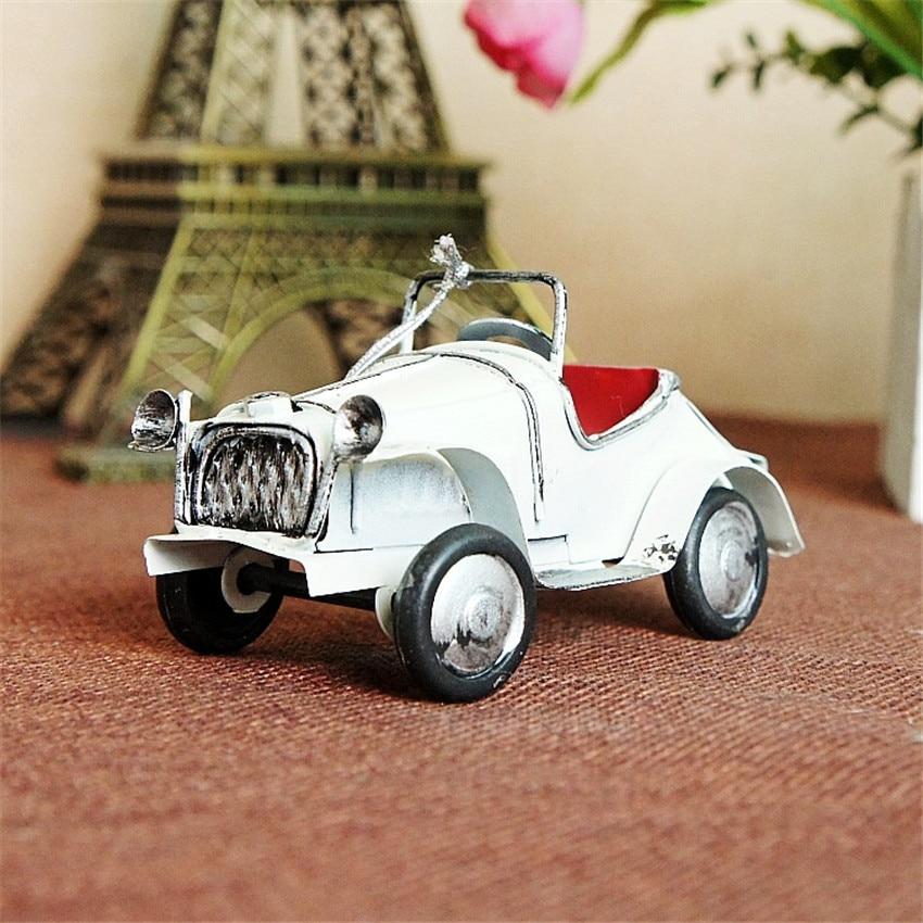 Hot sale (9pcs/lot) Multicolor Finishing retro car model Handmade - Home Decor - Photo 6