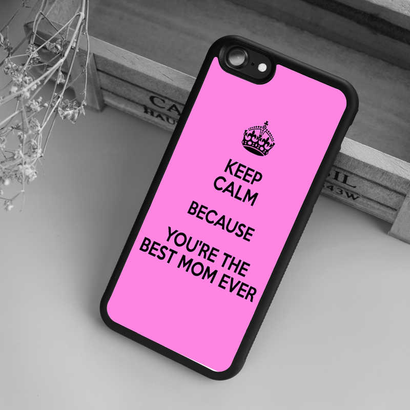 buy popular 1de97 33c38 maifengge the best MOM DAD cell phone Cover case for iphone 6 4 4s 5 5s SE  5c 6 6s 7 plus case for iphone X 8
