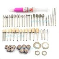 Polishing Rotary Carving Tools Dremel For Grinding Set Kit Diamond Abrasive Burr