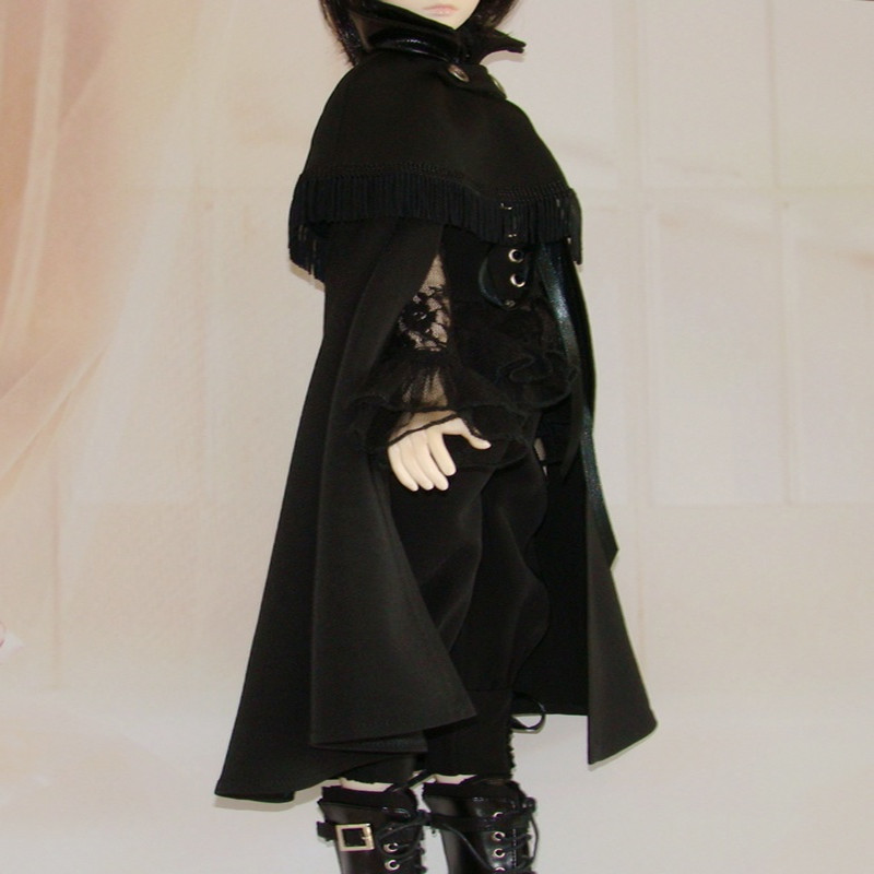ФОТО BJD SD doll clothes male suits - European court of cape sleeve