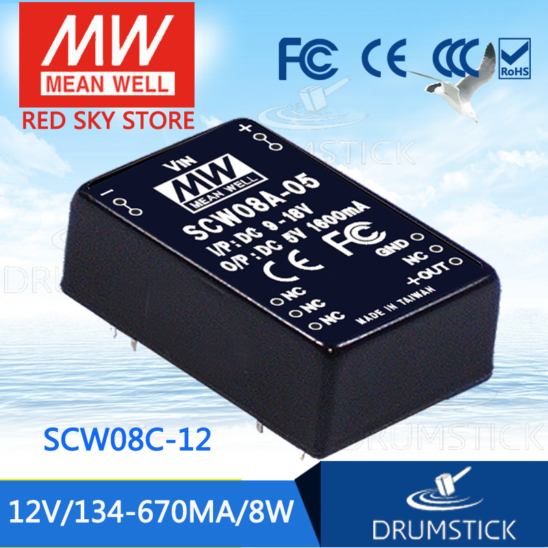 Advantages MEAN WELL SCW08C-12 12V 670mA meanwell SCW08 12V 8W DC-DC Regulated Single Output ConverterAdvantages MEAN WELL SCW08C-12 12V 670mA meanwell SCW08 12V 8W DC-DC Regulated Single Output Converter