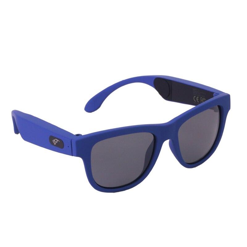 Blue frame black len