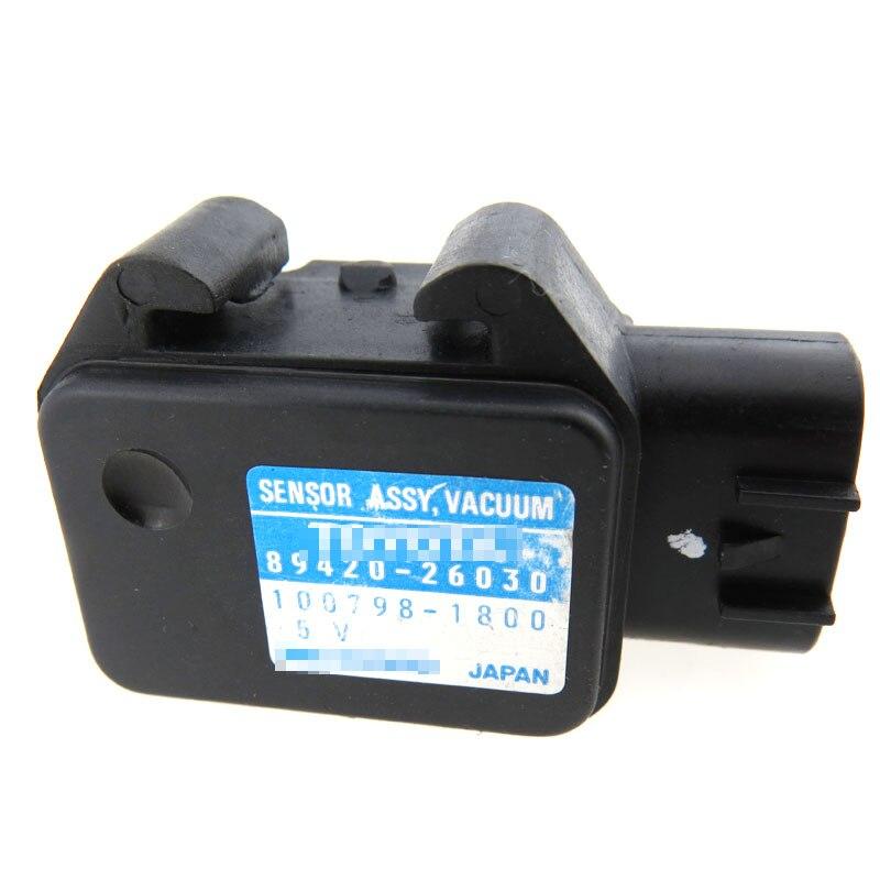 Intake Pressure Sensor 100798 3570 89420 33010 89420 06020 Fits For toyota camry Map sensor 1007983570