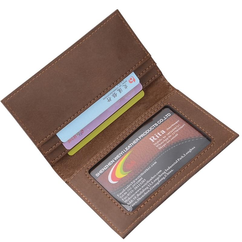 ONLVAN Cüzdan Unisex Deri Küçük Seyahat Kredi Kartları Tutucular - Cüzdanlar - Fotoğraf 1