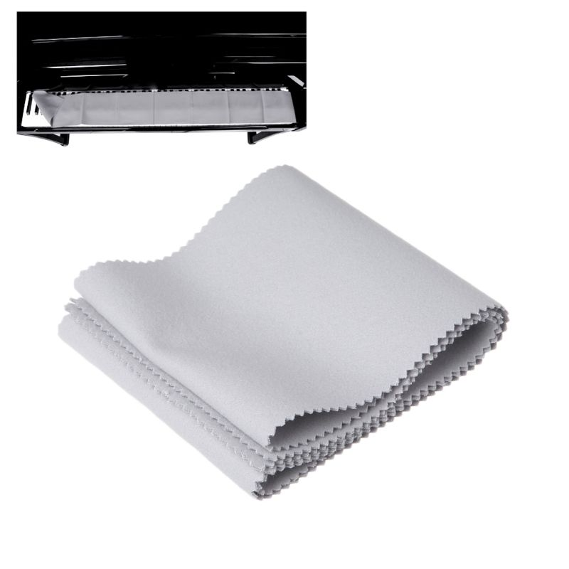 New 1 Pc Gray Piano Keyboard Dust Cover Soft Nylon Cotton Protector Case For Protect All 88 Key Piano Accessories