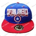 Captain America Steven Steve Rogers Snapback Caps Adult Hip-hop Hats Baseball Cap Clown for Men Women