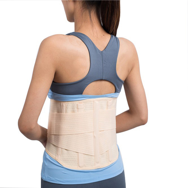 Back Waist Lumbar Spine Brace Support Trainer Corset Shaper Cincher Weight Loss Abdomen Tummy Slimmer Trimmer Belt Wrapper Band