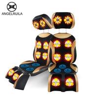 Angelruila Full Body Massager Electric Neck Back Head Leg Massage Chair Muscle Stimulator Antistress Health Care Massageador Mat