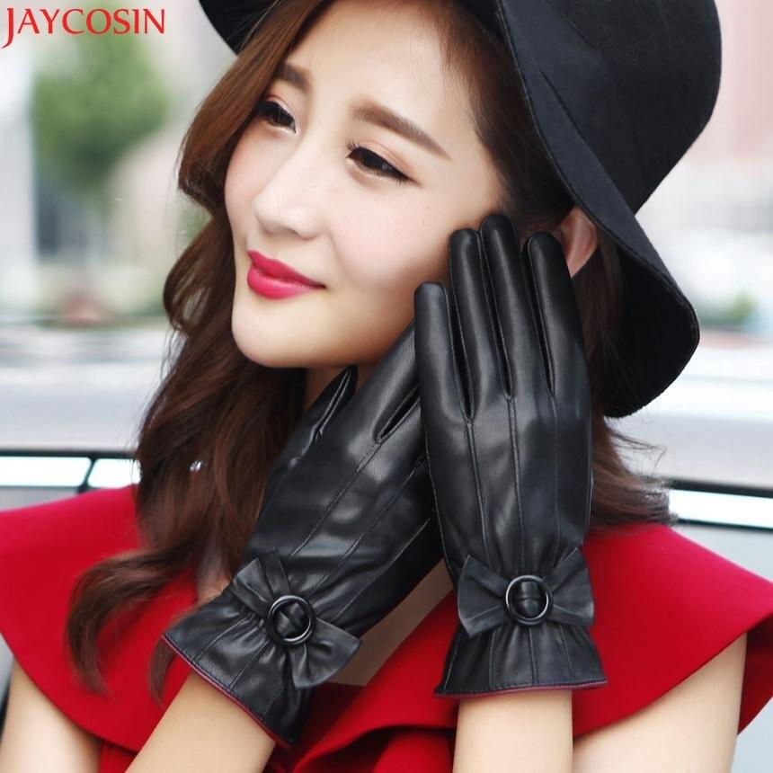 Jaycosin gloves womenx27s unisex mittens screen winter gloves ladys tactical gloves outdoor Dec13