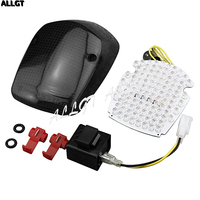 ALLGT Smoke LED Tail light + Turn Signals For HONDA SHADOW ACE AERO SABRE DELUXE
