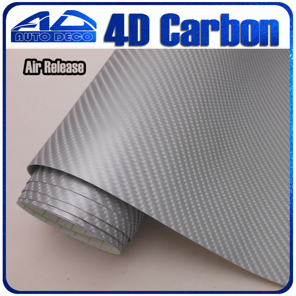 High Quality Super Silver Carbon Fiber Vinyl For Car Wrapping Car DIY Color Change Film With Air Channel 1.52*30M/roll 9005 blue film super bright car halogen bulb for headlight with high quality drop shipping