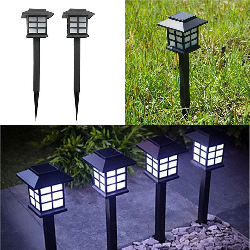 Outdoor garden light luz solar led para exterior lawn lamp - Luz solar exterior ...