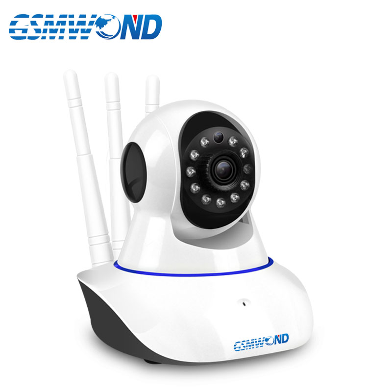 2.4G Wifi IP Camera Network Alarm APP, Compatible With 433MHz Wireless Detector. Compatible PG103 W2B WPG WIfi GSM Alarm System.