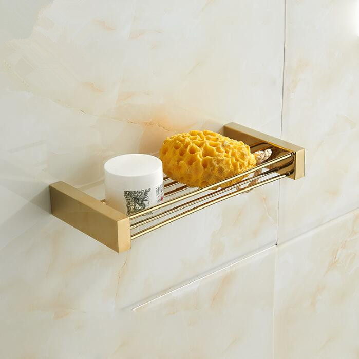 Pleasant Us 39 65 41 Off Copper Soap Holder Golden Soap Dish Bathroom Storage Rack Home Decoration Bathroom Accessories In Bathroom Shelves From Home Beutiful Home Inspiration Ommitmahrainfo
