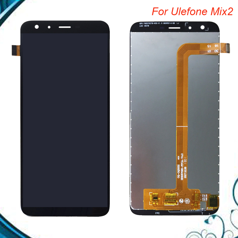 100% Tested Well For Ulefone Mix2 LCD Display+Touch Screen Screen Digitizer Assembly Replacement Balck Color IN STOCK 100% Tested Well For Ulefone Mix2 LCD Display+Touch Screen Screen Digitizer Assembly Replacement Balck Color IN STOCK