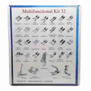 Image 3 - Набор прижимных лапок для вязания крючком, 32/42/48/52 шт.