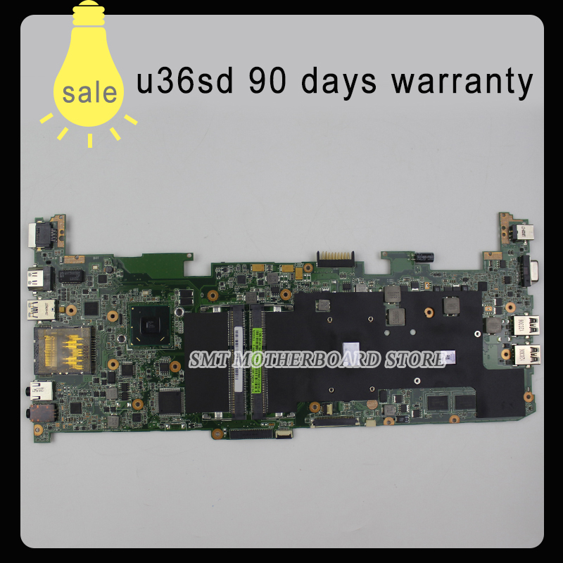 for ASUS U36S U36SG motherboard U36SD REV2.0 Mainboard Processor I3 GT610 1G DDR3 100% test k75de motherboard qml70 la8371p rev 1a mainboard hd 7670 1g socket fs1 100% test