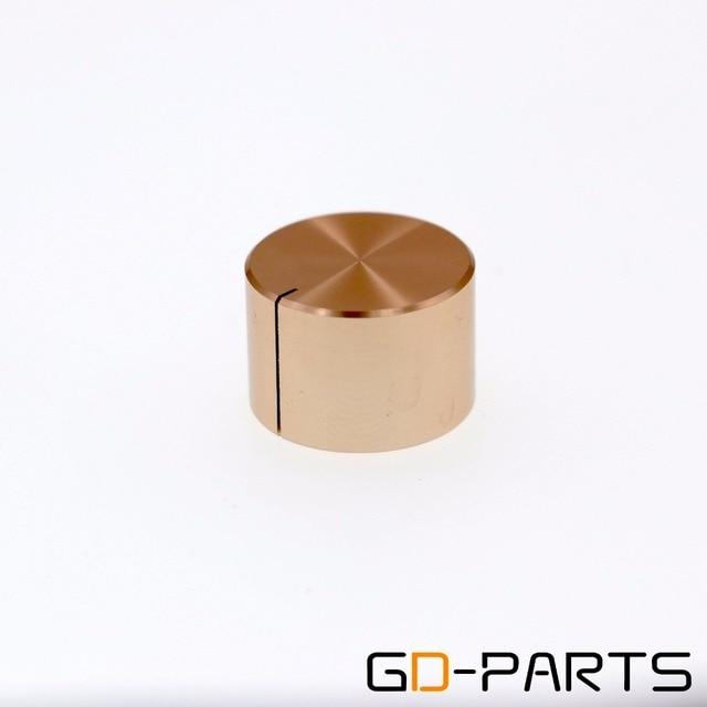 22x15mm Full Aluminum knob Pointer knob AMP Speaker Turntable DAC radio Volume Potentiometer Knob Button Silver Gold