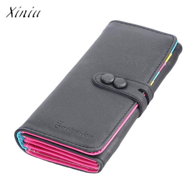 Portemonnee Design.New Fashion Wallet Women Small Fresh Wallet Mobile Phone Bag Leather