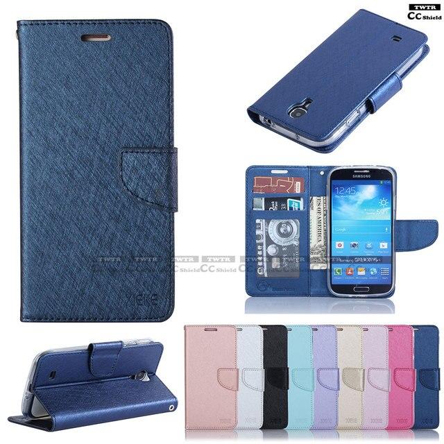 Flip Case for Samsung S4 S 4 GalaxyS4 i9500 I9505 I9506 I9515 Case Phone Leather Cover GT-I9502 GT-I9515 GT-I9506 GT-I9505 I9507