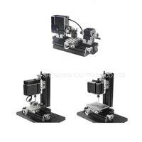 Metal Mini Multipurpose 3 In 1 Lathe Machine With 12000r Min Powerful 60W Motor DIY Tools