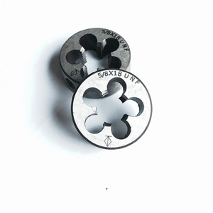 Free shipping of 2PCS alloy steel made American standard manual die UNF 5/8-18 Threading Tools Lathe Model Engineer Thread Maker