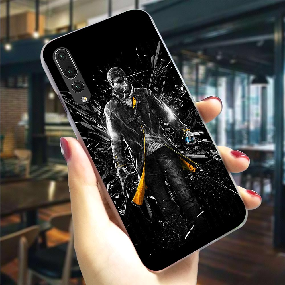 Plastic Phone Cover for <font><b>Huawei</b></font> P10 Lite <font><b>Watch</b></font> Dogs Wrench Case for P <font><b>Smart</b></font> Covers P8 Lite <font><b>P20</b></font> <font><b>Pro</b></font> P P9 Mini Mate 20 image